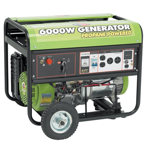 All Power America APG3560CN, 6000W Watt Generator with Electric Start